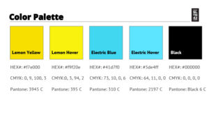 color palette style guide download